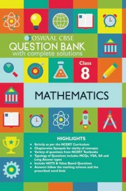 Oswaal CBSE Question Banks Mathemaitcs For Class 8