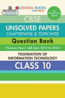 Download oswaal cbse chapterwise topicwise unsolved papers oswaal cbse chapterwise topicwise unsolved papers question bank class x foundation of information technology fandeluxe Gallery