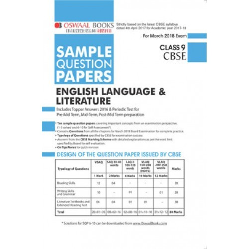 sample paper of english ix English language sample test paper 1 // sample test paper 2 // sample test paper 3 // sample test paper 4 // sample test paper 5 // sample test paper 6  class ix.