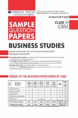 Download oswaal cbse sample question papers for class xi business oswaal cbse sample question papers for class xi business studies mar 2018 exam malvernweather Images