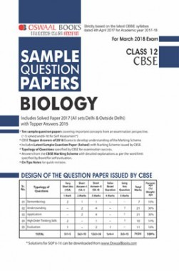 Download oswaal cbse sample question papers for class xii biology oswaal cbse sample question papers for class xii biology mar 2018 exam 40 off fandeluxe Gallery