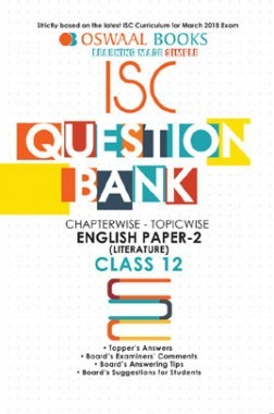 Oswaal ISC Question Bank Chapterwise - Topicwise English