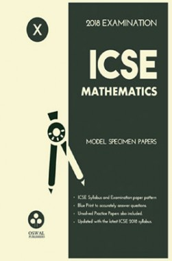 Download oswal icse model specimen papers of mathematics for class x oswal icse model specimen papers of mathematics for class x 2018 examination fandeluxe Gallery