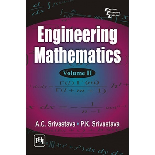 Engineering Mathematics Volume 2 By Srivastava A C