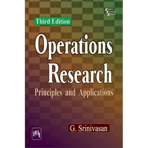 Operations research principles and applications by g srinivasan operations research principles and applications fandeluxe Gallery