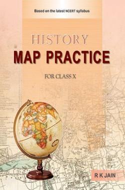 CBSE History Map Practice Class 10
