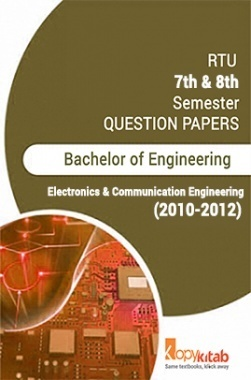 RTU QUESTION PAPERS 4th Year Electronics And Communication 2010-2012
