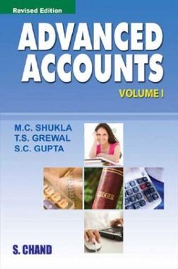 Advanced Accounts Volume-I