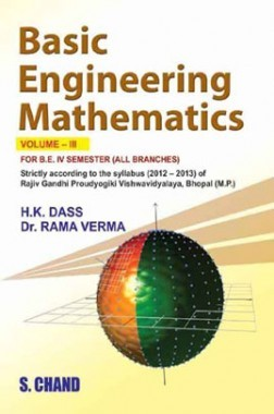 Basic Of Engineering Mathematics – III