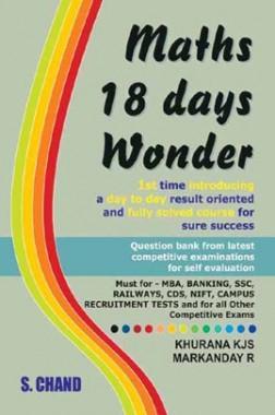 Maths 18 Days Wonder