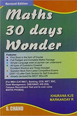 Maths 30 Days Wonder