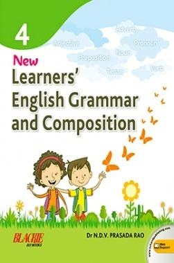 Learners english grammar and composition book 4
