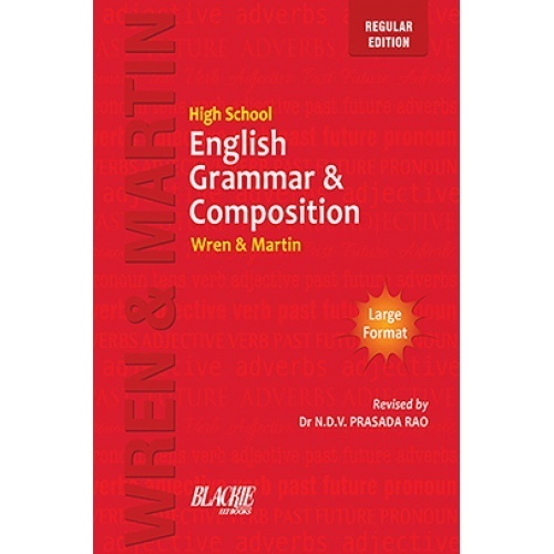 Preposition In Learn In Marathi All Complate: High School English Grammar And Composition Book (Regular