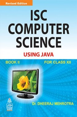 ISC Computer Science For Class XII