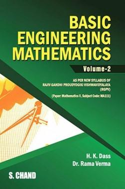 Basic Of Engineering Mathematics Vol-II