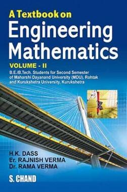 A Textbook Of Engineering Mathematics Vol-II