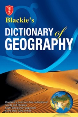 Blackie's Dictionary Of Geography