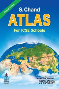 S. Chand's Atlas For ICSE Schools