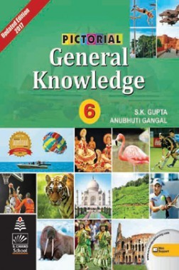 Pictorial General Knowledge (Updated Edition) Book 6