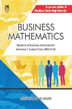 Business Mathematics (CCS University)