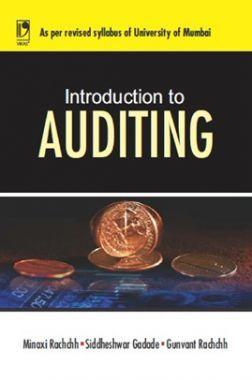 Introduction To Auditing (University of Mumbai)