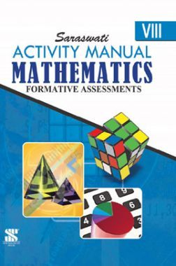 Mathematics Activity Manuals with Notebook For Class VIII