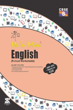 Me N Mine English For Class-VIII CBSE (Pullout Worksheets)