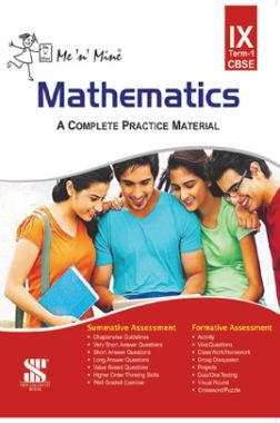 Me N Mine Mathematics First Term For Class-IX CBSE