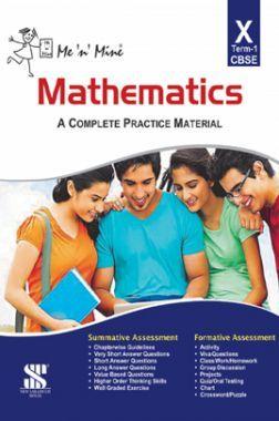 Me N Mine Mathematics First Term For Class-X CBSE
