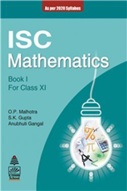 ISC Mathematics Book 1 For Class - XI