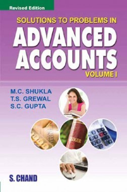 Solutions To Problems In Advanced Accounts Volume-I