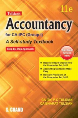 Tulsian's Accountancy For CA-IPC (Group-I) with Quick Revision
