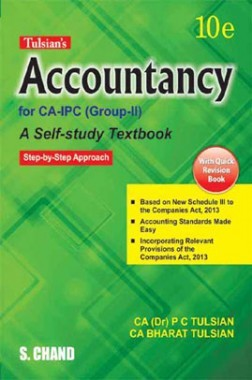 Tulsian's Accountancy For CA-IPC (Group-II) with Quick Revision