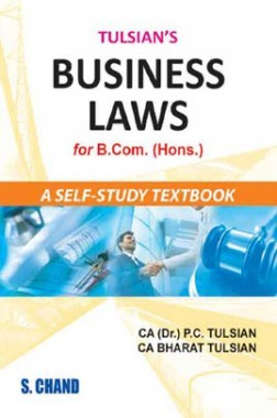 Tulsian's Business Law For Bcom (Hons)