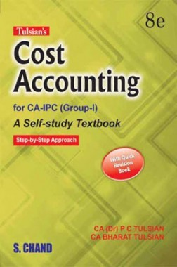 Tulsian's Cost Accounting For CA-IPC (Group I) with Quick Revision