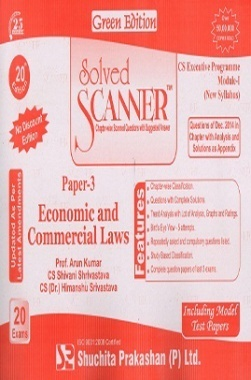 Solved Scanner CSEP Module-I Economic and Commercial Laws Paper 3 Dec 2014