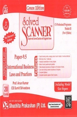 Solved Scanner CS Professional Programme Module III Paper 9.5 International Business Laws and Practices New Syllabus July 2015