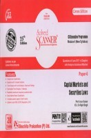 Shuchita Prakashan Solved Scanner CS Executive Programme Module-II Capital Markets and Securities Laws Paper-6 (New Syllabus) For Dec 2017 Exam