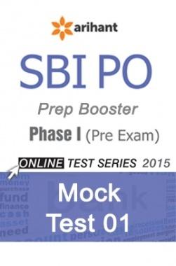 SBI Bank PO Mock Test 1