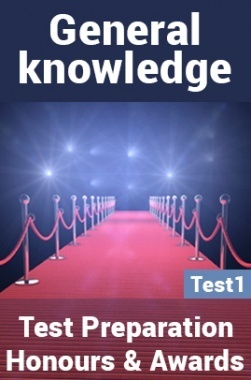 General Knowledge Test Preparations On Honours And Awards Part 1