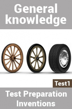 General Knowledge Test Preparations On Inventions Part 1