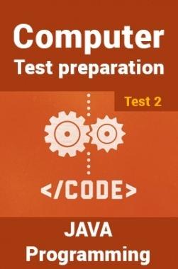 Computer Science Engineering Test Preparations On Java Programming Part 2