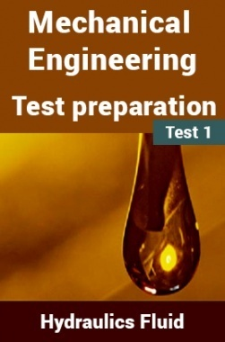 Mechanical Engineering Test Preparations On Hydraulics and Fluid Mechanics Part 1