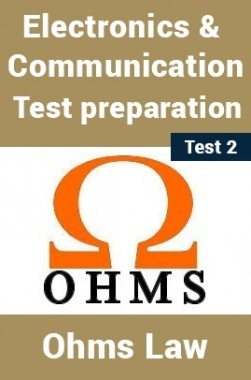 Electrical And Electronics Test Preparations On Ohm's Law Part 2