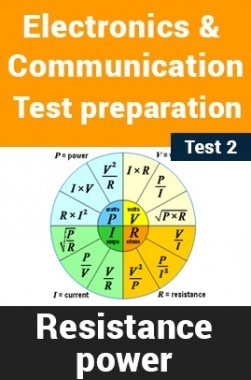 Electronics And Communication Test Preparations On Resistance and Power Part 2