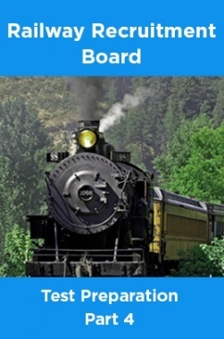 Railway Recruitment Board Test Preparation Part 4