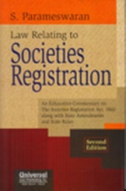 Law Relating to Societies Registration eBook, 2nd Edn.