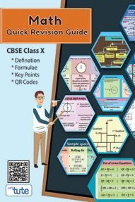 Mathematics charts with formulas for quick revision (CBSE class 10)