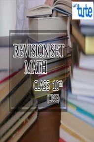 Revision Set Math For Class X ( CBSE )