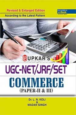 UGC NET/JRF/SET Commerce (Paper-II And III)